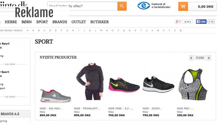 Stor dansk modeportal udvider på sportsområdet!