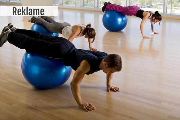 Træningsbolde, pilates bolde, god til hjemmetræningen